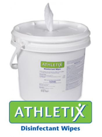 Athletix Disinfectant Wipes Pre-Loaded Bucket