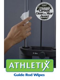 Athletix Guide Rod Lubricant Wipes